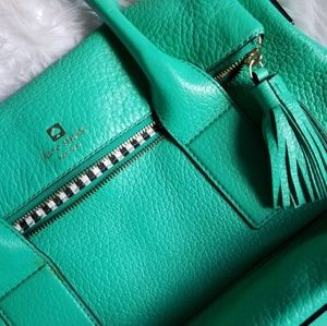 Kate Spade Turquoise Satchel